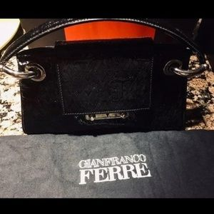 AUTHENTIC Gianfranco Ferre patent leather purse